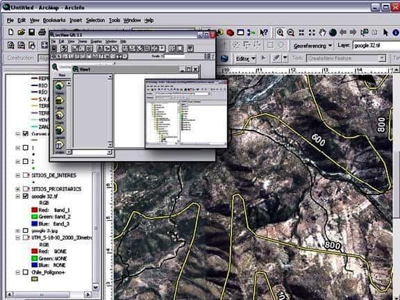 Cartografía y mapas